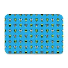 Alien Pattern Plate Mats by BangZart