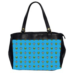 Alien Pattern Office Handbags (2 Sides)