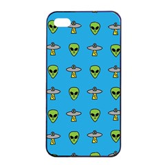 Alien Pattern Apple Iphone 4/4s Seamless Case (black)