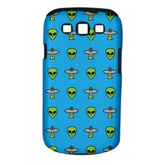 Alien Pattern Samsung Galaxy S Iii Classic Hardshell Case (pc+silicone) by BangZart