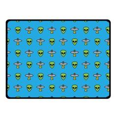 Alien Pattern Double Sided Fleece Blanket (small)  by BangZart