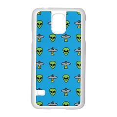 Alien Pattern Samsung Galaxy S5 Case (white) by BangZart
