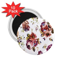 Texture Pattern Fabric Design 2.25  Magnets (10 pack)