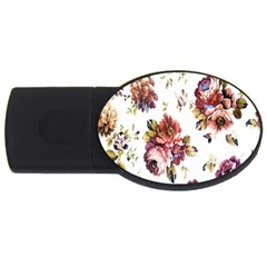 Texture Pattern Fabric Design Usb Flash Drive Oval (4 Gb) by BangZart