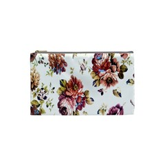 Texture Pattern Fabric Design Cosmetic Bag (small)  by BangZart