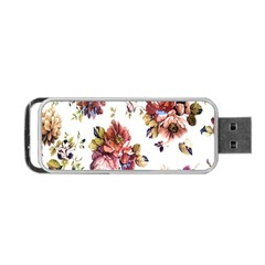 Texture Pattern Fabric Design Portable Usb Flash (one Side) by BangZart