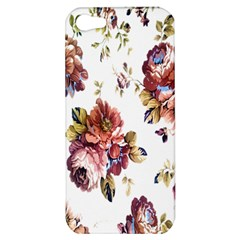 Texture Pattern Fabric Design Apple Iphone 5 Hardshell Case