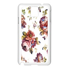 Texture Pattern Fabric Design Samsung Galaxy Note 3 N9005 Case (white)