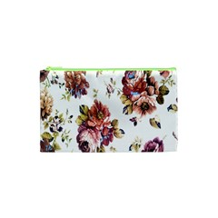 Texture Pattern Fabric Design Cosmetic Bag (xs) by BangZart