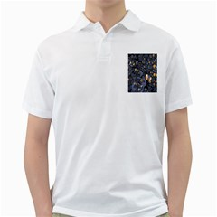 Monster Cover Pattern Golf Shirts by BangZart