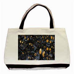 Monster Cover Pattern Basic Tote Bag by BangZart