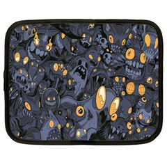 Monster Cover Pattern Netbook Case (xxl)  by BangZart