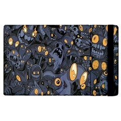 Monster Cover Pattern Apple Ipad 3/4 Flip Case by BangZart