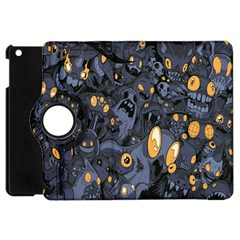 Monster Cover Pattern Apple Ipad Mini Flip 360 Case