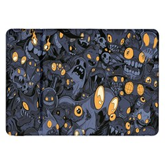 Monster Cover Pattern Samsung Galaxy Tab 8 9  P7300 Flip Case