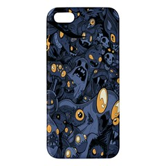 Monster Cover Pattern Iphone 5s/ Se Premium Hardshell Case by BangZart