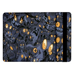 Monster Cover Pattern Samsung Galaxy Tab Pro 12 2  Flip Case