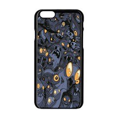 Monster Cover Pattern Apple Iphone 6/6s Black Enamel Case by BangZart
