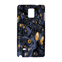 Monster Cover Pattern Samsung Galaxy Note 4 Hardshell Case by BangZart