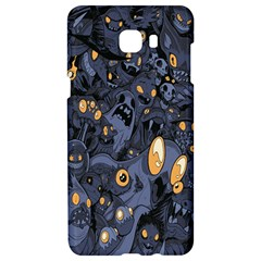 Monster Cover Pattern Samsung C9 Pro Hardshell Case