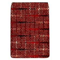 Rust Red Zig Zag Pattern Flap Covers (s)  by BangZart