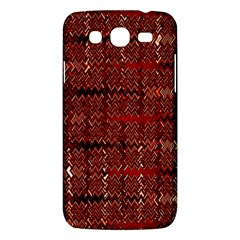 Rust Red Zig Zag Pattern Samsung Galaxy Mega 5 8 I9152 Hardshell Case  by BangZart