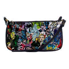 Vintage Horror Collage Pattern Shoulder Clutch Bags by BangZart