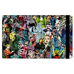 Vintage Horror Collage Pattern Apple Ipad 3/4 Flip Case by BangZart