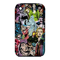 Vintage Horror Collage Pattern Iphone 3s/3gs by BangZart