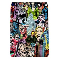 Vintage Horror Collage Pattern Flap Covers (s)  by BangZart