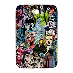 Vintage Horror Collage Pattern Samsung Galaxy Note 8 0 N5100 Hardshell Case  by BangZart