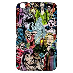 Vintage Horror Collage Pattern Samsung Galaxy Tab 3 (8 ) T3100 Hardshell Case