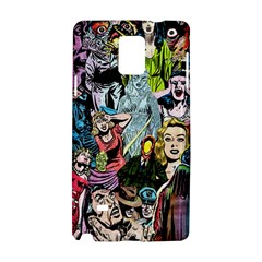 Vintage Horror Collage Pattern Samsung Galaxy Note 4 Hardshell Case