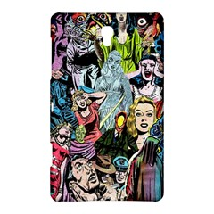 Vintage Horror Collage Pattern Samsung Galaxy Tab S (8 4 ) Hardshell Case  by BangZart