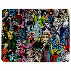 Vintage Horror Collage Pattern Jigsaw Puzzle Photo Stand (rectangular)