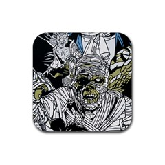 The Monster Squad Rubber Coaster (square)