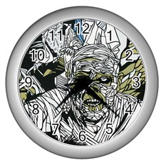 The Monster Squad Wall Clocks (silver)  by BangZart