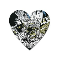 The Monster Squad Heart Magnet by BangZart