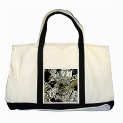 The Monster Squad Two Tone Tote Bag by BangZart