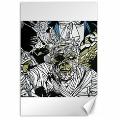 The Monster Squad Canvas 20  X 30
