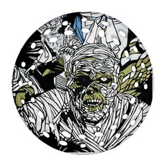 The Monster Squad Round Filigree Ornament (two Sides)