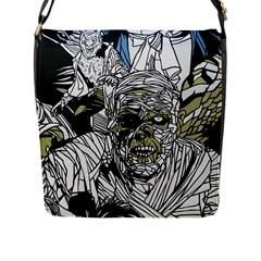 The Monster Squad Flap Messenger Bag (l)