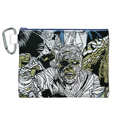 The Monster Squad Canvas Cosmetic Bag (xl) by BangZart