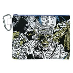 The Monster Squad Canvas Cosmetic Bag (xxl) by BangZart