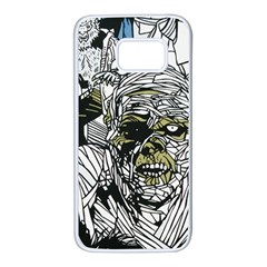 The Monster Squad Samsung Galaxy S7 White Seamless Case by BangZart
