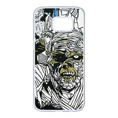 The Monster Squad Samsung Galaxy S7 Edge White Seamless Case by BangZart