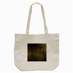Background Colors Of Green And Gold In A Wave Form Tote Bag (cream) by BangZart