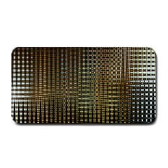 Background Colors Of Green And Gold In A Wave Form Medium Bar Mats