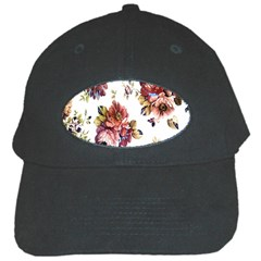 Texture Pattern Fabric Design Black Cap by BangZart