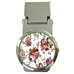 Texture Pattern Fabric Design Money Clip Watches by BangZart